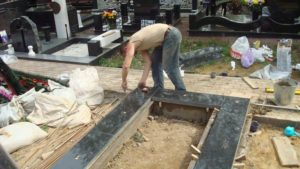 Порядок установки памятников на кладбище