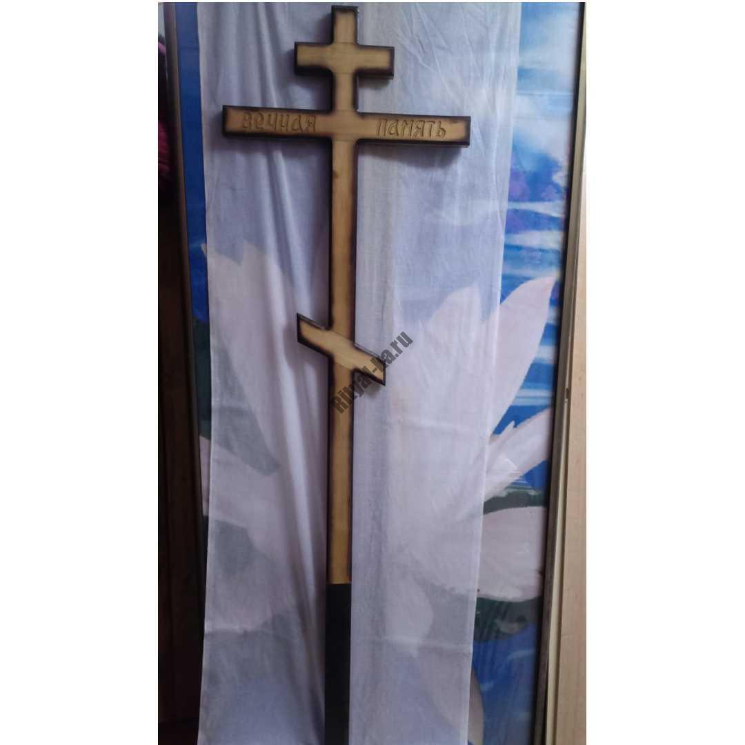 Крест на могилу 020