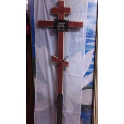 Крест на могилу 021