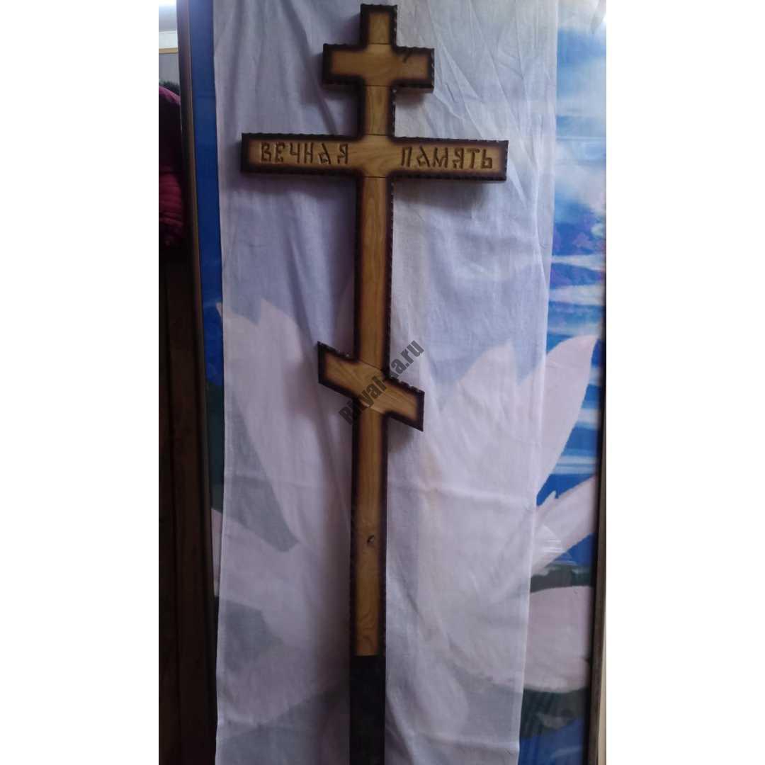 Крест на могилу 024