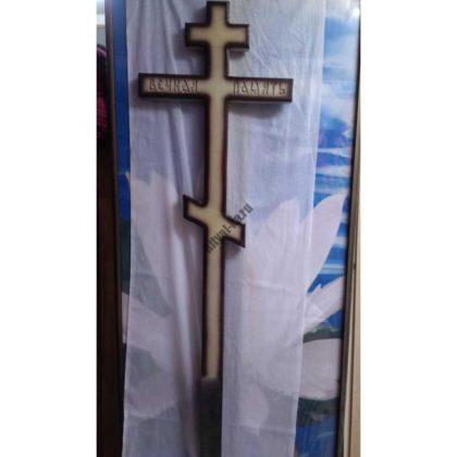 Крест на могилу 025