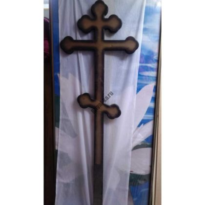 Крест на могилу 026