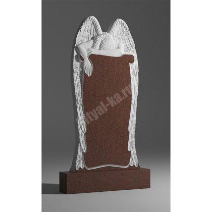 Гранитный памятник Ангел со свитком 003-2