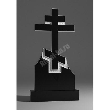 Мраморный памятник Крест 018