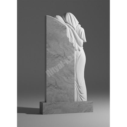 Мраморный памятник Скорбящая 022