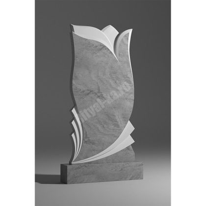 Мраморный памятник Тюльпан 024