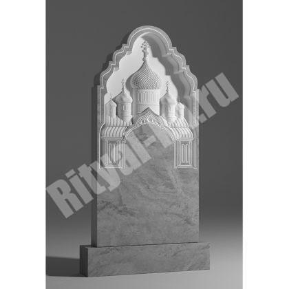 Мраморный памятник Храм 040