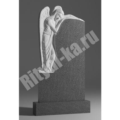 Гранитный памятник Ангел девочка 036-2