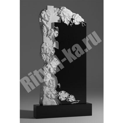 Гранитный памятник Виноград с крестом 042-2