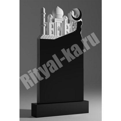Гранитный памятник Мечеть с горой 051-2
